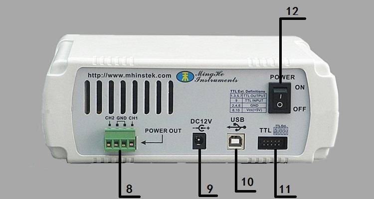 Генератор сигналов MHS5200P