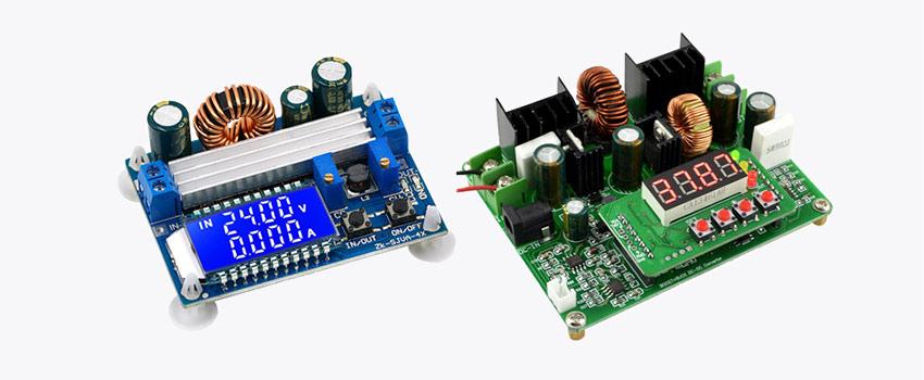 Импульсные преобразователи ZK-SJVA-4X и D3806