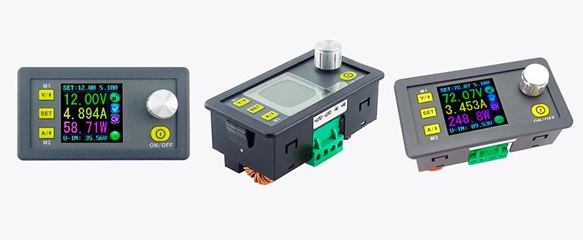 Понижающие стабилизаторы DPS3005, DPS5005 и DPS8005