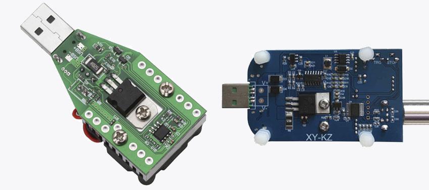 Пример электронной USB нагрузки