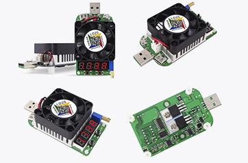 Электронные USB нагрузки RuiDeng HD25 и RuiDeng HD35