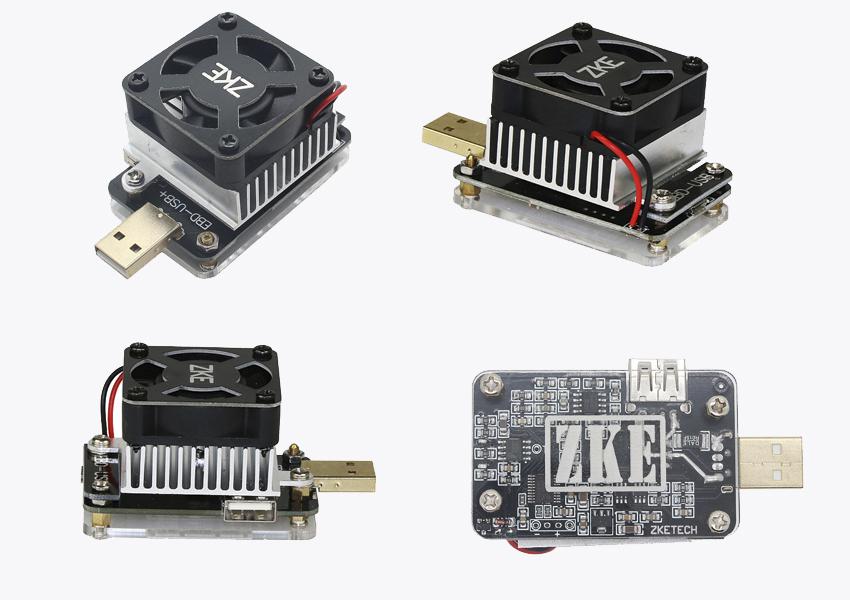 Тестер USB ZKEtech EBD-USB+