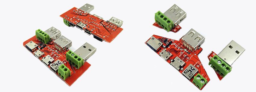 Платы-адаптеры для расширения функционала USB нагрузки