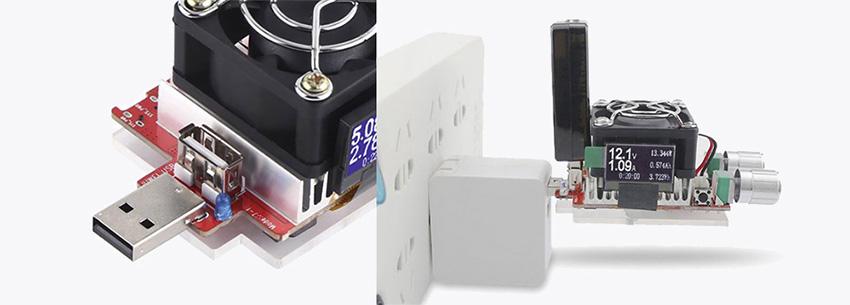 Один из факторов выбора USB нагрузки - поддержка протоколов быстрого заряда